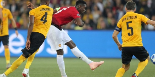 (VIDEO) Manchester United gana de visita 3 a 0 al Young Boys