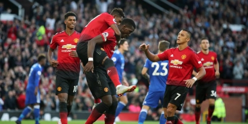 (VIDEO) Manchester United logra vencer al Leicester en inicio de la Premier League