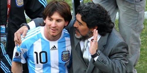 (VIDEO) Maradona atacó públicamente a Messi