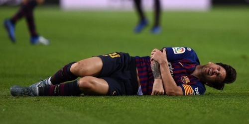 (VIDEO) Messi sería baja por 3 semanas