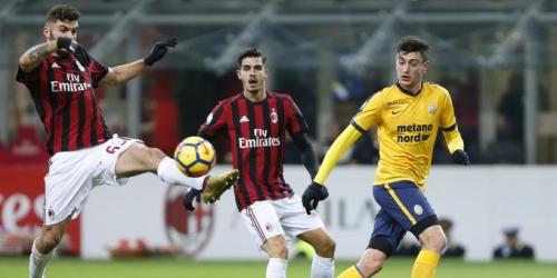 (VIDEO) Milan ganó 3-0 al Hellas Verona por Copa Italia