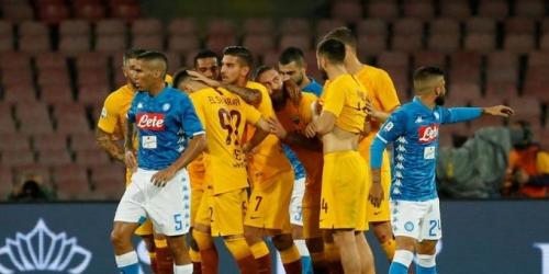 (VIDEO) Napoli sufre y rescata un empate con el AS Roma