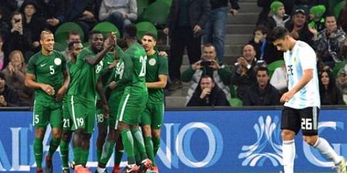 (VIDEO) Nigeria venció a Argentina en amistoso con miras al Mundial de Rusia 2018