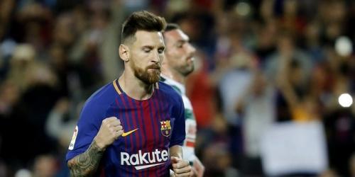 (VIDEO) Póker de Messi para la goleada del Barça frente al Eibar