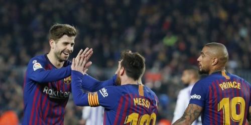 (VIDEO) Por un penal, Barcelona se lleva 3 puntos sobre el Real Valladolid