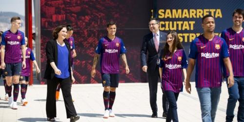 (VIDEO) Presentación de la nueva camiseta del Barcelona