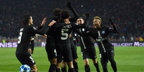 (VIDEO) PSG de visita goleó a la Estrella Roja y clasifica a la siguiente ronda