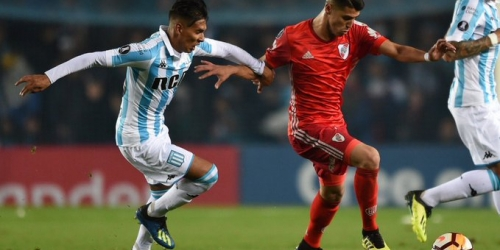 (VIDEO) Racing Club empató con River Plate en Copa Libertadores