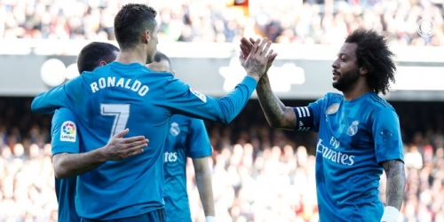 (VIDEO) Real Madrid le ganó al Valencia C.F.