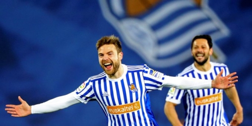 (VIDEO) Real Sociedad goleo al Deportivo