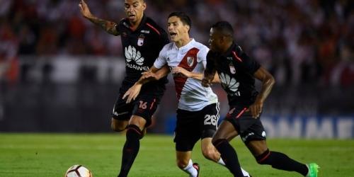 (VIDEO) River plate empató ante el Independiente Santa Fe