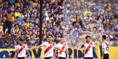 (VIDEO) River se lleva el Superclásico del fútbol argentino en la Bombonera