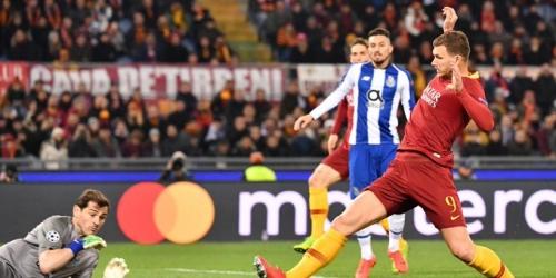 (VIDEO) Roma obtiene una pequeña ventaja en casa por los octavos de final de la Champions League