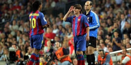 (VIDEO) Ronaldinho y su amistad con Messi