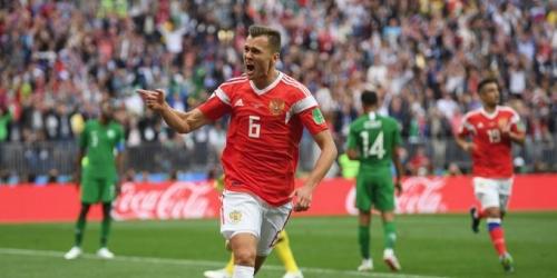 (VIDEO) Rusia vence 5-0 Arabia Saudita