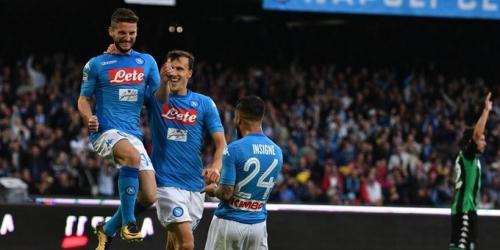(VIDEO) Sassuolo no puede contra el Napoli