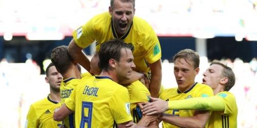 (VIDEO) Suecia gana 1 - 0 Corea y ya piensa en Alemania