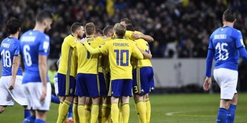 (VIDEO) Suecia vence a Italia en la repesca rumbo al Mundial Rusia 2018