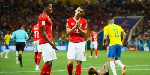 (VIDEO) Suiza rescata un empate ante Brasil