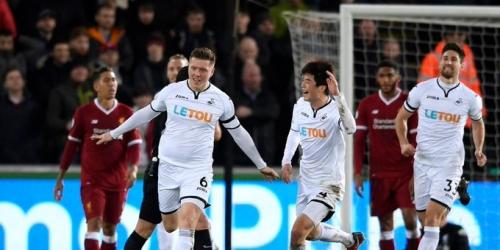 (VIDEO) Swansea ganó 1-0 al Liverpool por la Premier League
