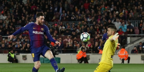 (VIDEO) Triplete de Messi y nuevo récord del Barça