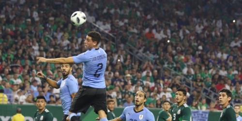 (VIDEO) Uruguay golea 4 a 1 a México en partido amistoso