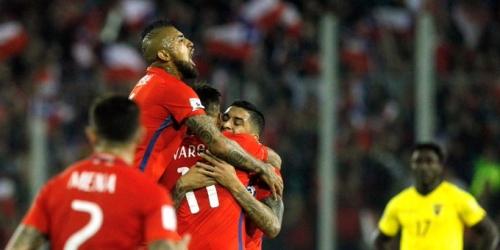 (VIDEO) Victoria de Chile vs. Ecuador y sigue en la pelea