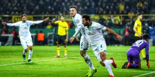 (VIDEO) Werder Bremen elimina al Dortmund de la Copa de Alemania