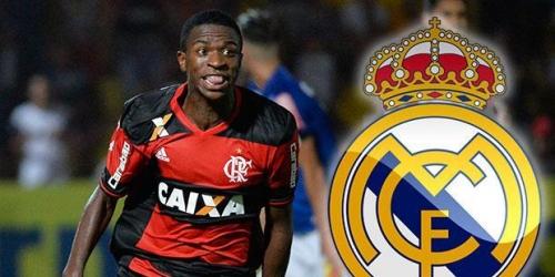 Vinícius Júnior no sabe exactamente cuándo podrá unirse al Real Madrid
