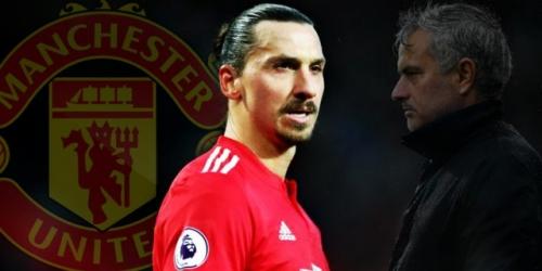 Zlatan jugaría su última temporada en el Manchester United